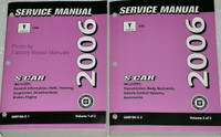 2006 Pontiac Vibe, Vibe GT Factory Shop Service Manual Set
