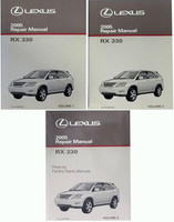 2005 Lexus RX330 Factory Service Manual Set Original RX 330 Shop Repair