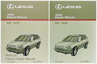 Lexus 1999 Repair Manual RX 300