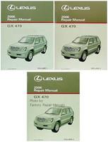 2006 Lexus GX470 Factory Service Manual Set GX 470 Original Shop Repair