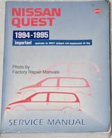 Nissan Quest 1994-1995 Service Manual