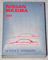 Nissan Maxima 1994 Service Manual