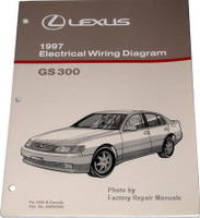 1997 Lexus GS300 Electrical Wiring Diagrams Original Factory Manual