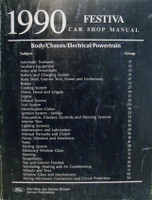 1990 Ford Festiva Shop Manual