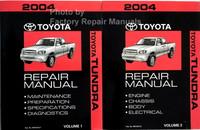 2004 Toyota Tundra Repair Manual Volume 1, 2