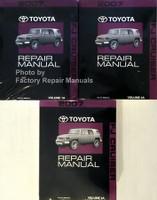 2007 Toyota FJ Cruiser Factory Repair Manuals