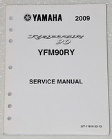 2009 YAMAHA RAPTOR 90 ATV YFM 90 Service Manual YFM90RY Factory Shop Repair 09