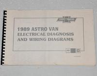 1989 CHEVY ASTRO VAN Electrical Diagnosis & Wiring Diagrams Shop Manual Mini-Van