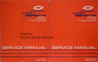 Chevrolet Corsica, Beretta Service Manual 1993 Volume 1 and 2
