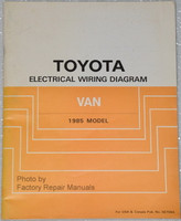 Toyota Electrical Wiring Diagrams Van 1985 Model