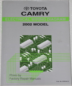 Pleasant 2002 Toyota Camry Electrical Wiring Diagrams Original Factory Manual Wiring 101 Archstreekradiomeanderfmnl