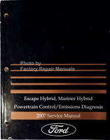 Escape Hybrid, Mariner Hybrid Powertrain Control/Emissions Diagnosis 2007 Service Manual