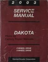 2003 Service Manual Dakota