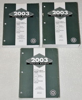 2003 GMC Envoy, Chevy Trailblazer, Olds Bravada Service Manual Volume 1, 2, 3