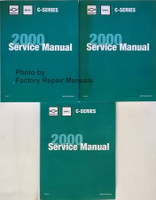 Chevrolet GMC C-Series 2000 Service Manual Volume 1, 2a & 2b