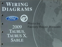 Wiring Diagrams Ford Mercury 2009 Taurus, Taurus X, Sable