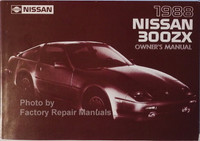 1988 Nissan 300ZX Owners Manual