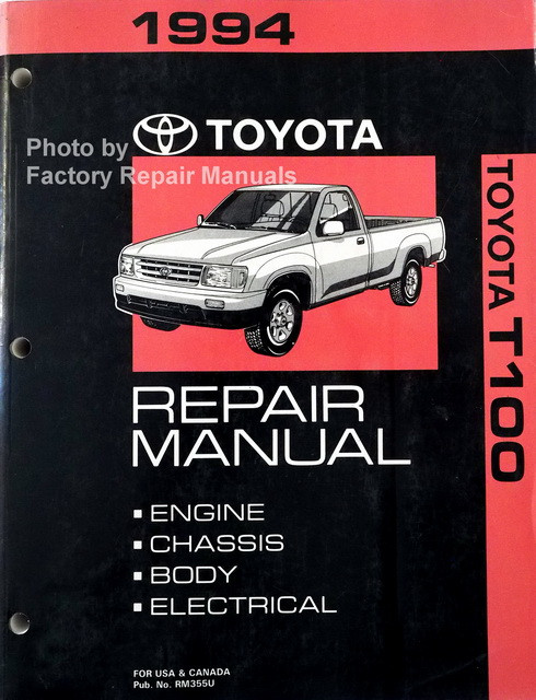 1994 toyota t100 repair manual