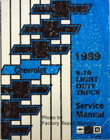 1989 Chevrolet S-10 Light Duty Truck Service Manual