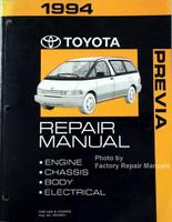 1994 Toyota Previa Repair Manual