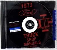1973 Ford Truck Shop Manuals 5 Volumes