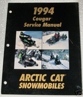 1994 ARCTIC CAT Cougar Mountain Cat Snowmobile Dealer Shop Service Repair Manual