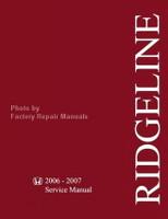 Honda 2006 2007 Service Manual Ridgeline