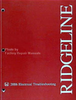 2006 HONDA RIDGELINE OEM Electrical Troubleshooting Shop Manual RT RTS RTL NEW
