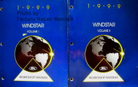 1999 Windstar Ford Workshop Manual Volume 1, 2