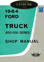1964 Ford Truck 85-1100 Series Shop Manual