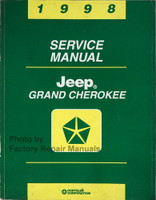 1998 Jeep Grand Cherokee Service Manual