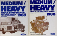 1980 Ford Medium / Heavy Duty Truck Service Manual