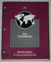 1997 Lincoln Continental Factory Service Manual Original Shop Repair