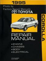 1995 Toyota Corolla Repair Manual