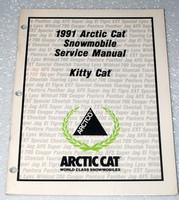1991 ARCTIC CAT KITTY CAT SNOWMOBILE Service Manual Factory Dealer Shop Repair