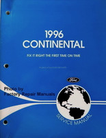1996 Continental Ford Service Manual