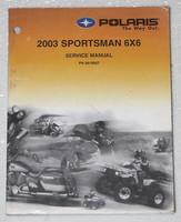 2003 POLARIS SPORTSMAN 500 6X6 ATV Factory Service Manual Dealer Shop Repair 03