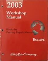 2003 Workshop Manual Escape