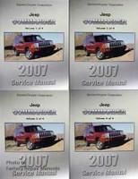 2007 Jeep Commander Factory Shop Service Manual 4 Volume Set
