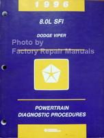 1996 8.0L SFI Dodge Viper Powertrain Diagnostic Procedures