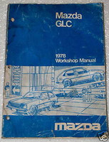 Mazda GLC 1978 Workshop Manual
