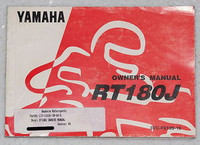 1997 YAMAHA RT180 Owners Manual Original