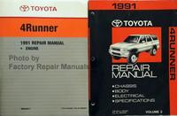 1991 Toyota 4Runner Repair Manual Volume 1, 2