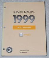 Service Manual 1999 Oldsmobile Intrigue Volume 1