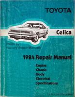 Toyota Celica 1984 Repair Manual