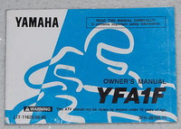 1994 YAMAHA BREEZE YFA1 Moto-4 ATV Original Owners Manual YFA1F LIT-11626-08-80