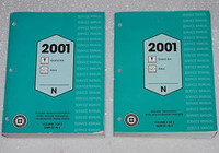 2001 Pontiac Grand Am Oldsmobile Alero Service Manual Volume 1, 2