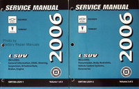 2006 Chevy Equinox Pontiac Torrent Service Manual Factory Dealer Shop Repair Set