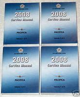 2008 Chrysler Pacifica Service Manual Volume 1, 2, 3, 4