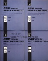 2009 GM STPU-TRK Service Manual Chevrolet Colorado GMC Canyon Volume 1, 2, 3, 4